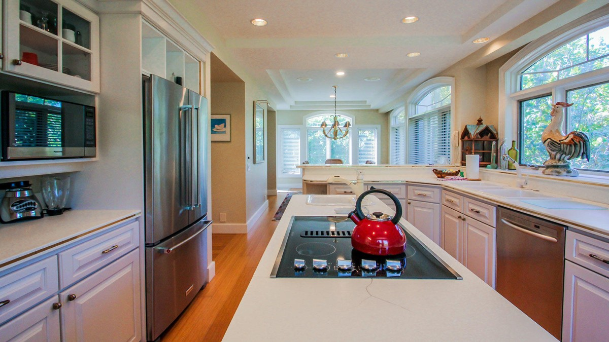 Cooktop In Kitchen Island