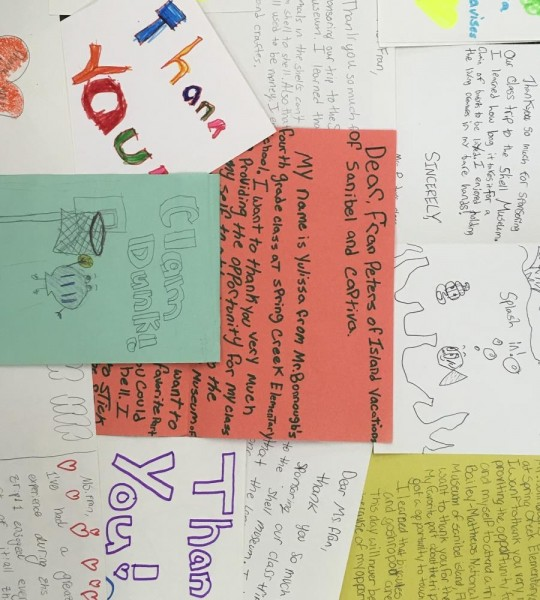 Thank You Note collage