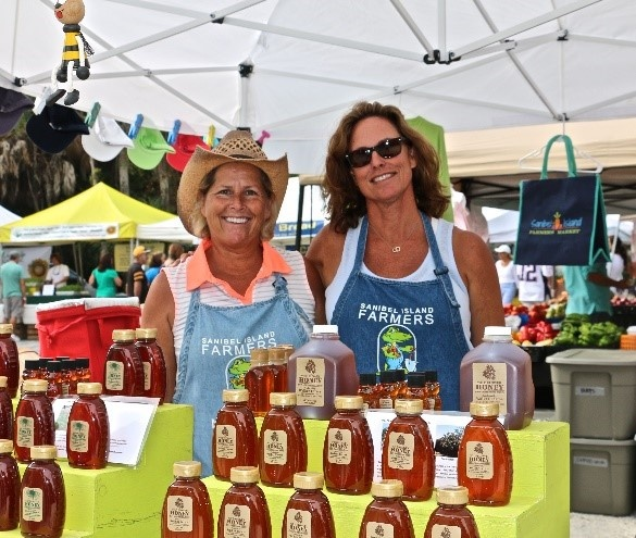 The Two Sanibel Island Farmers Market Founders